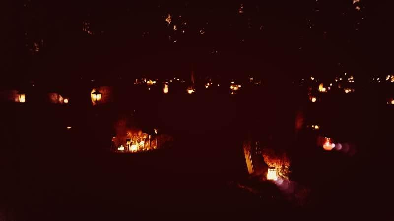 Halloween på Skogskyrkogården