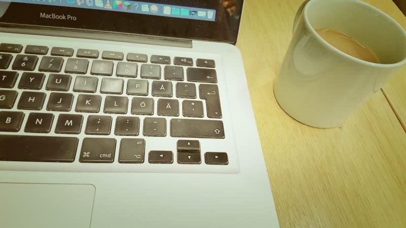 Mac och kaffe