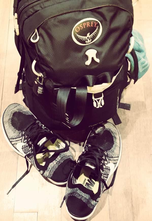 Osprey Fare 24 och Nike FREE 4.0