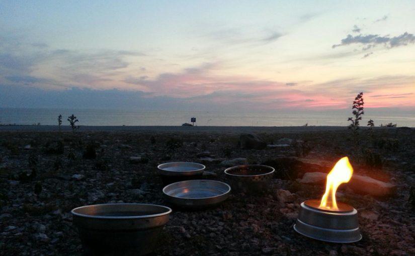 Car camping in Gotland.
